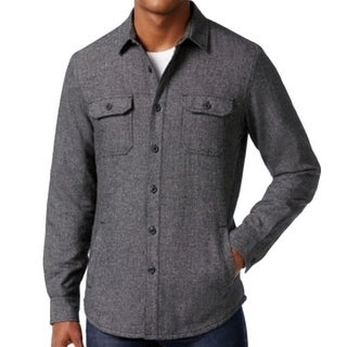 American Rag NEW Gray Mens Size Small S Button-Down Four-Pocket Jacket