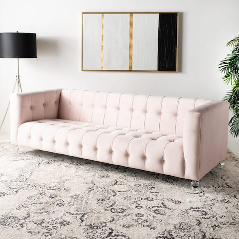 Safavieh Couture Brynn Acrylic Leg Sofa