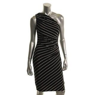 Ralph Lauren Womens Petites Casual Dress Ruched Sheath - 6P