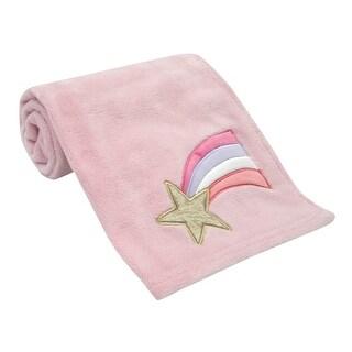 Bedtime Originals Pink Rainbow Unicorn Baby Blanket