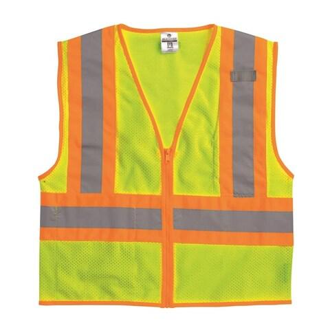 Ultra-Cool Mesh Contrasting Emergency Vest