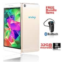 Indigi® 6.0inch Factory Unlocked 3G Smartphone Android 5.1 Lollipop SmartPhone + WiFi + Bundle Included - GOLD