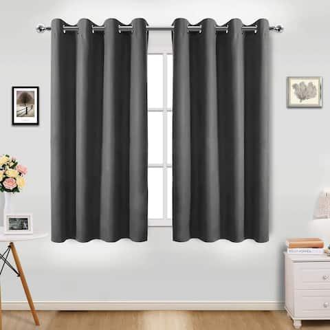 Pro Space Room Blackout Curtains Drape Top Grommet 1 Panel