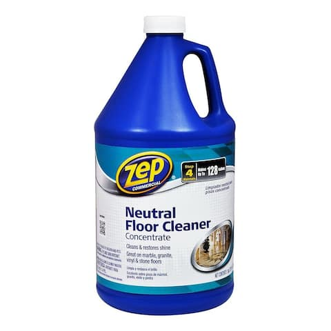 Zep Commercial ZUNEUT128 Neutral Floor Cleaner Concentrate, 1-Gallon