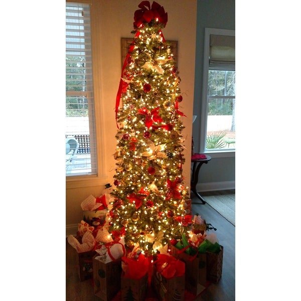shop kingswood fir hinged pencil 75 foot tree on sale free shipping today overstockcom 9558604
