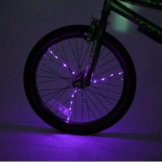 Spoke Brightz LED Bicycle Spoke Accessory, Purple - multi