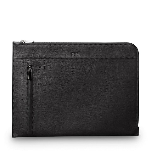 SENA Cases Universal Leather Sleeve for iPad 12.9 inch and Macbook 12 inch - SHD256GBUS
