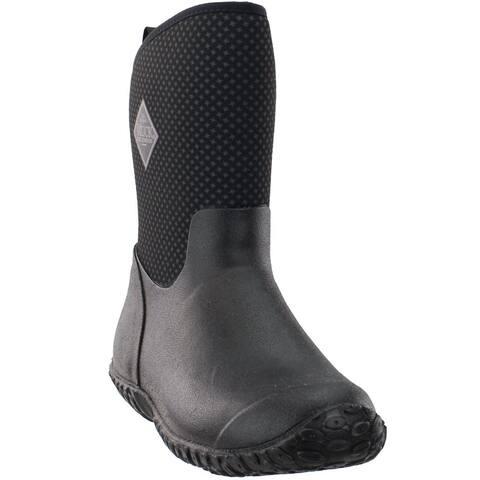 Muck Boot Muckster Ii Mid Outdoor Womens Boots Mid Calf - Black