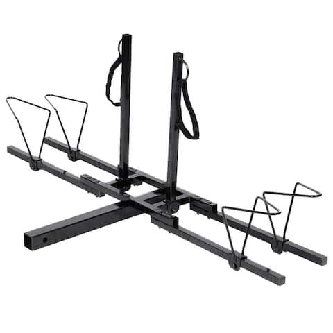 "2"" Heavy Duty 2 Bicycle Hitch Mount Carrier"
