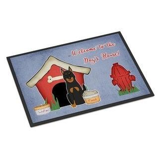 Carolines Treasures BB2834JMAT Dog House Collection Beauce Shepherd Dog Indoor or Outdoor Mat 24 x 0.25 x 36 in.