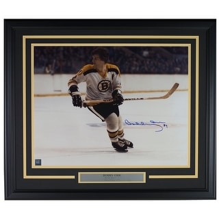 Bobby Orr Signed Framed Boston Bruins 16x20 Photo GNR