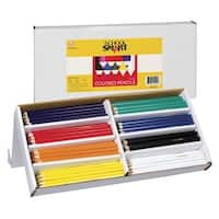 School Smart Colored Pencils, Assorted Colors, Set of 144