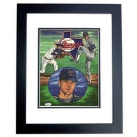 Nolan Ryan Signed - Autographed Texas Rangers 11 x 14 in. Photo