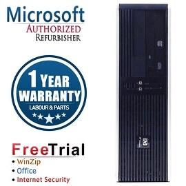 Refurbished HP Compaq DC5750 Small Form Factor AMD Athlon 64 3500+ 2.2G 4G DDR2 250G DVD WIN 7 PRO 64 1 Year Warranty