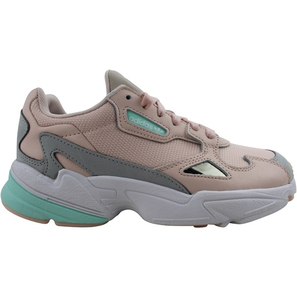 Adidas Falcon Ice Pink/Clementine-Grey Two FX7196 Women's. Opens flyout.
