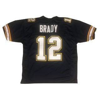 Tom Brady Unsigned High School Football Jersey