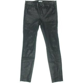 Vince Womens Lambskin Skinny Leather Pants - 10