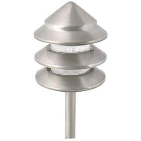 Moonrays 95878 Low Voltage Holton 3 Tier Path Light, 11 Watt