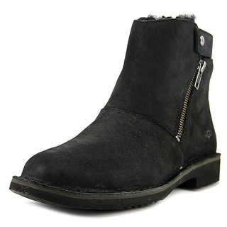Ugg Australia Kayel Women  Round Toe Leather Black Bootie
