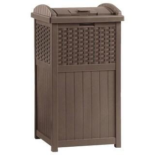 Suncast 30-33Gal Resin Trash Can
