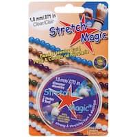 Stretch Magic Bead & Jewelry Cord 1.8mmX3m-Clear - Clear
