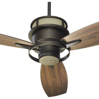 Quorum International 54543 Three Blade Up Lighting Indoor Ceiling Fan from the Bristol Collection