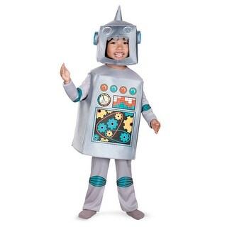 Kids Retro Robot Science Fiction Halloween Costume
