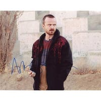 Sign Here Autographs 12788 Aaron Paul in-Person Autographed Photo