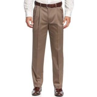 Perry Ellis Mens Chino Pants Non-Iron Tailored Fit
