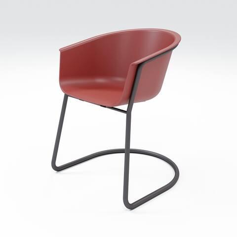 Carson Carrington Varne Sled Dining Chair