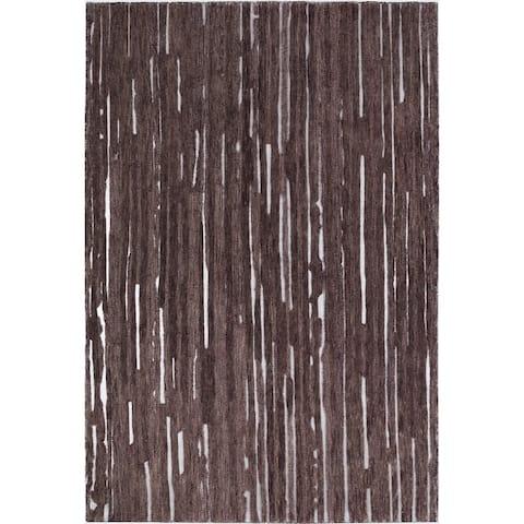 Addison Dazzle Modern Hand Spun Wool and Metallic Area Rug