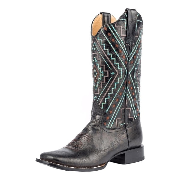 Roper Western Boots Womens Native Square 13""