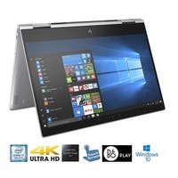 "HP Spectre x360 13.3"" 4K Corning Gorilla Glass Touch LED Laptop Core i7-8550U 512GB SSD (Certified Refurbished)"