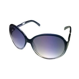 Esprit Womens Sunglass 19343 507 Blue Fade Round Fashion, Gradient Lens - Medium