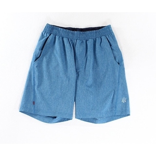 Rhone NEW Solid Bright Blue Mens Size Small S Slub Athletic Shorts