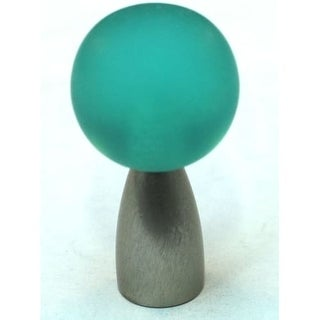 Cal Crystal 111 Athens Polyester 7/8 Inch Diameter Round Cabinet Knob