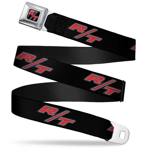 Dodge Challenger R T Emblem Full Color Black White Red Dodge Challenger R T Seatbelt Belt