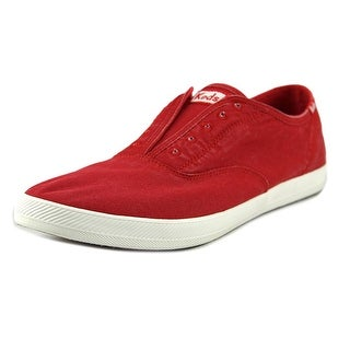 Keds Chillax Men Round Toe Canvas Red Sneakers
