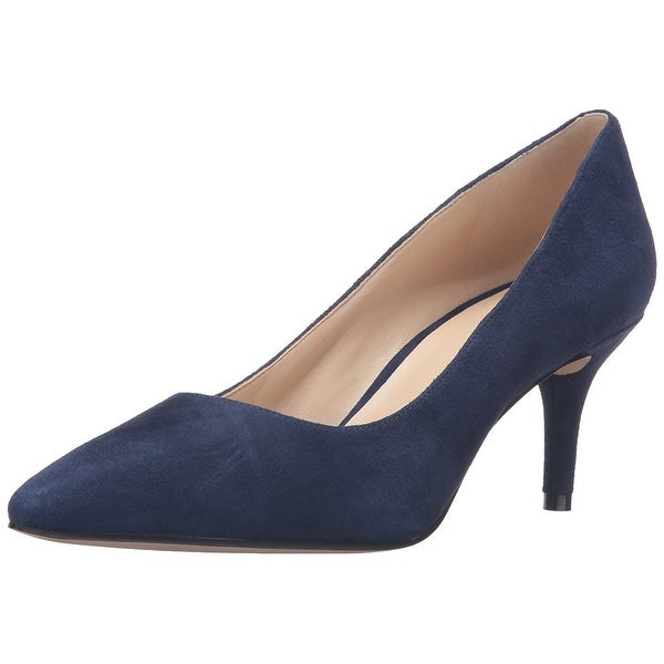 Nine West Womens Margot Suede Pointed Toe Classic Pumps
