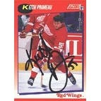 Keith Primeau Detroit Red Wings 1991 Score Autographed Card  Rookie Card  This item comes with a ce