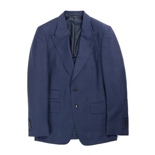 Tom Ford Navy OConnor Mohair Wool Blazer Jacket - 38r