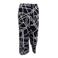 Alfani Women's Printed Culotte Pants