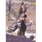 Kurt Thomas Miami Heat 1995 Signature Rookies TETRAD Autographed Card Certified Autograph #4769 5000 This item co