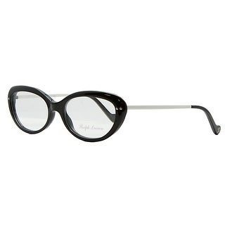 Ralph Lauren RL 6076W 5001 Black Plastic Womens Optical Frame - 53-16-140