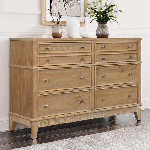 Hazel 6 Drawers Dresser Solid Wood