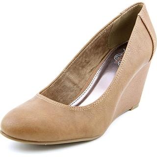 Unlisted Kenneth Cole Bold Shoe Women Open Toe Synthetic Wedge Heel