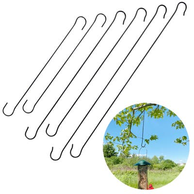 Evelots Tree Hanging Hook-Metal-Up to 24.8 Inch-Bird Feeder/Plants-No Tool