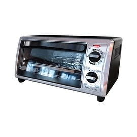 Black & Decker TO1322SBD Toaster Oven Broiler, 4 Slice