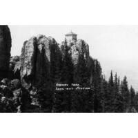 Black Hills Forest, SD Harney Peak - Vintage Photo (Art Print - Multiple Sizes)