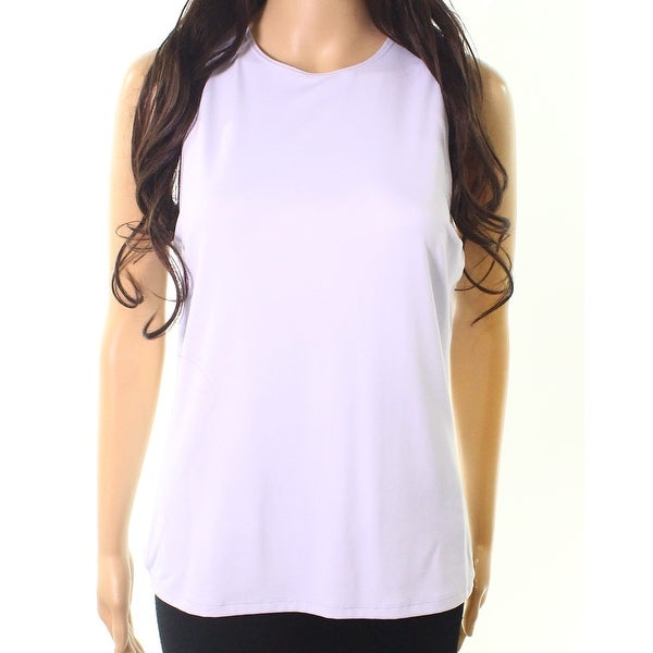 bcd186e7680d0 Shop Linda Leal Lavender Womens Sleeveless Tank Top - Free Shipping On  Orders Over  45 - Overstock.com - 26988108